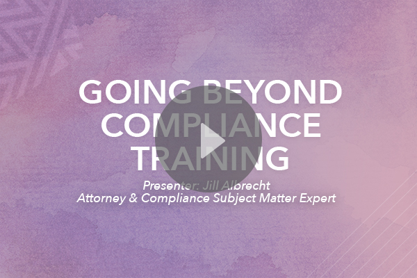 going beyond compliance copy