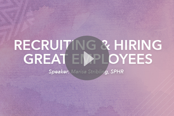 recruiting and hiring copy
